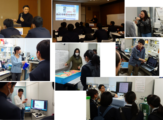Lecture and Labo Tour