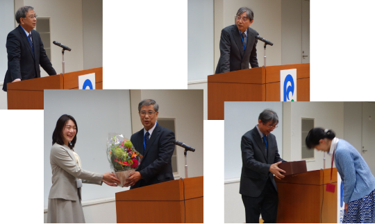 The Inauguration of Bioresource Research Center Director