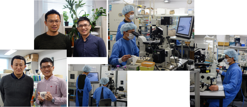 Technical Training for Dr. Chen-Cheng Lee