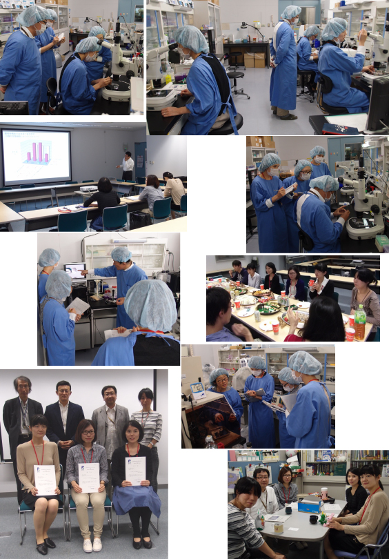 Technical Training Course for Cryopreservation of Mouse Embryos and Sperms