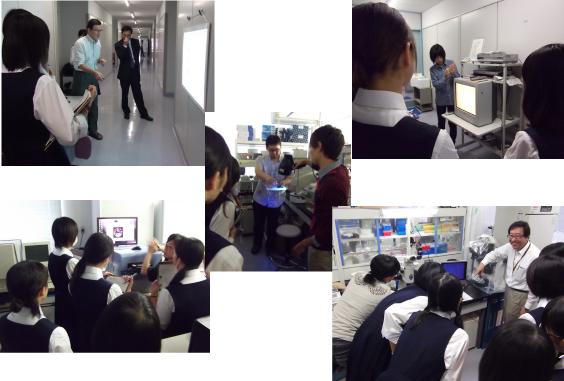 The Labo Tour for Kochi Gakugei High School