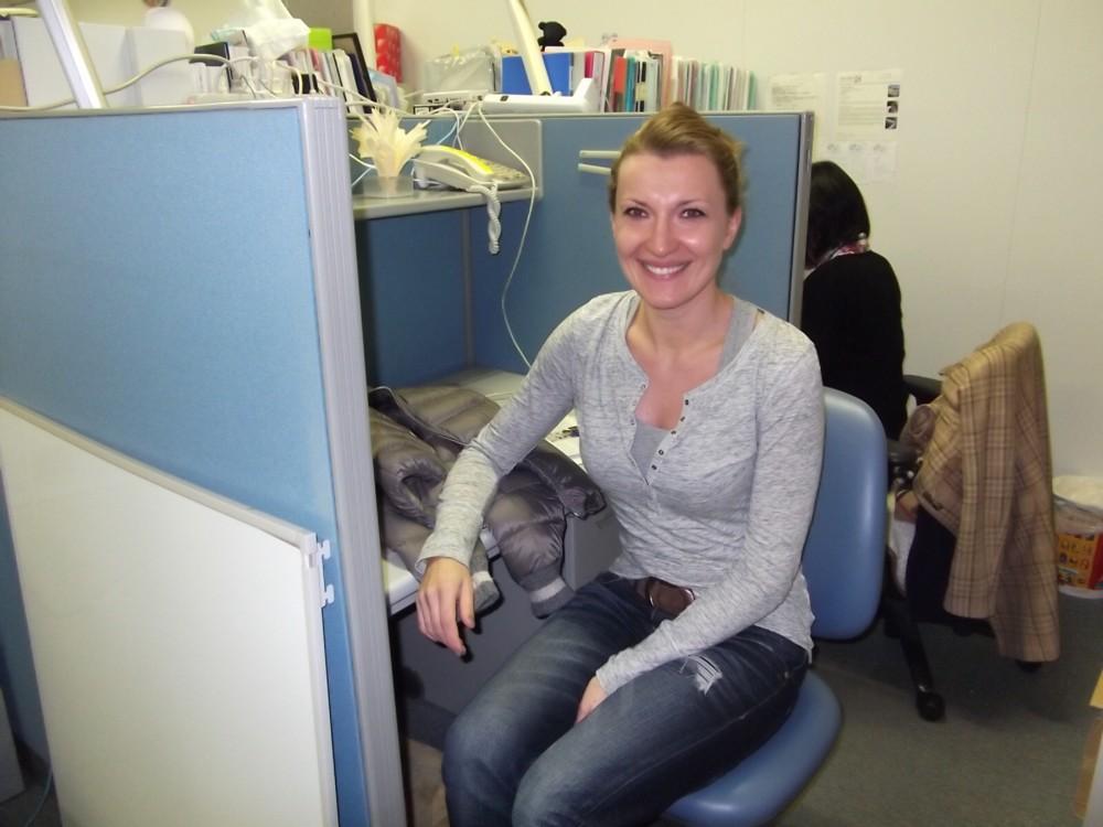 Dr. Marta Czernik Joined Us
