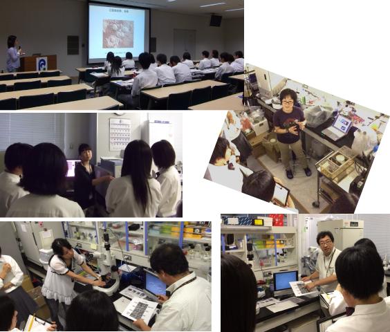 The Labo Tour for Takamatsu-Kita High School