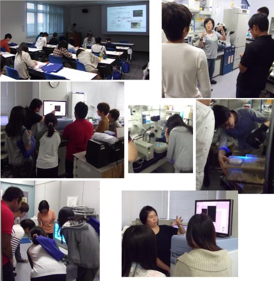 The Labo Tour for Tsukuba Univ.