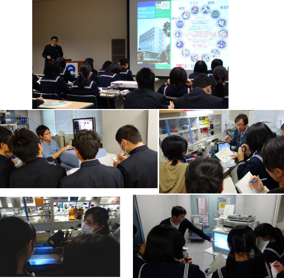 The Labo Tour for Uto High School